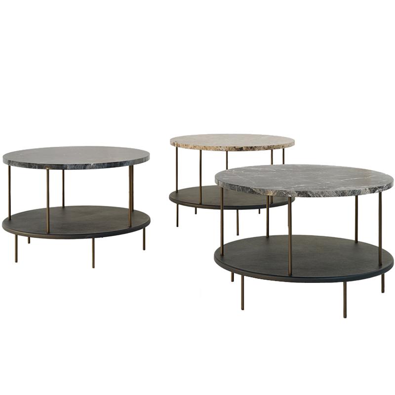 Wittmann 北欧 DD TABLE 系列 设计师茶几 现代简约轻奢不锈钢创意设计 家用商用样板房定制