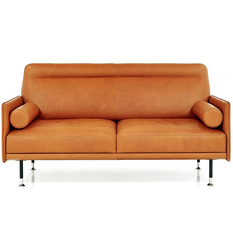 北欧轻奢Wittmann 布艺皮革沙发 Melange 客厅单人双人多人位沙发定制 简约ins