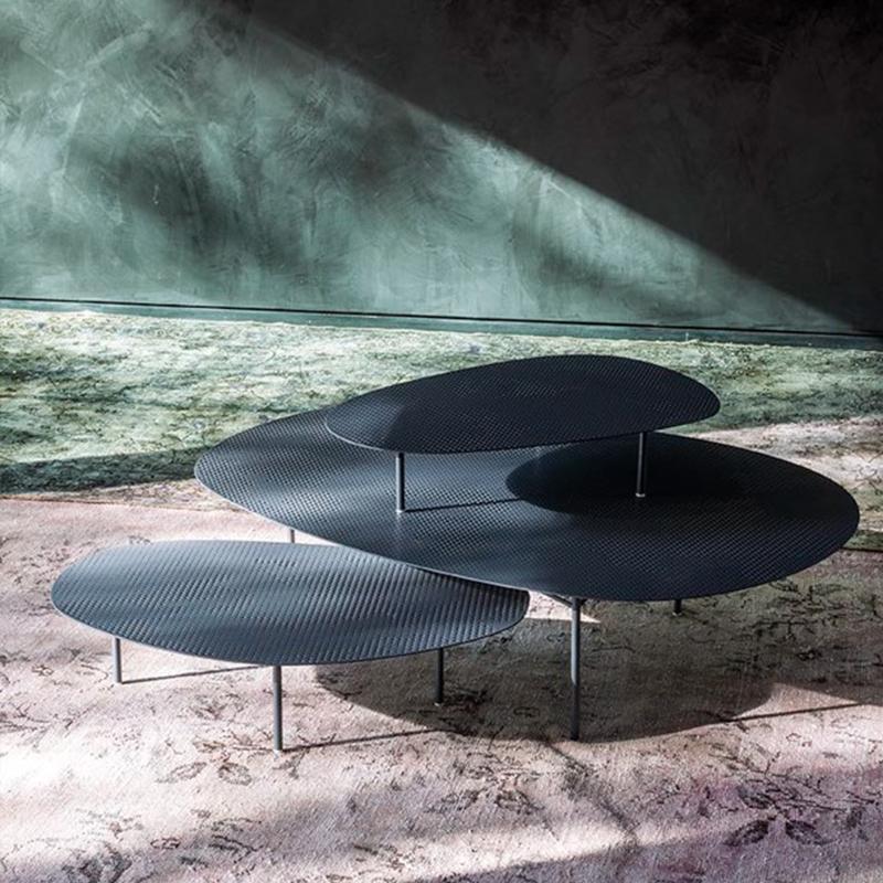 CLOUD Tea table 不锈钢异形镂空网状金属茶几 北欧设计师现代简约轻奢大小户型定制