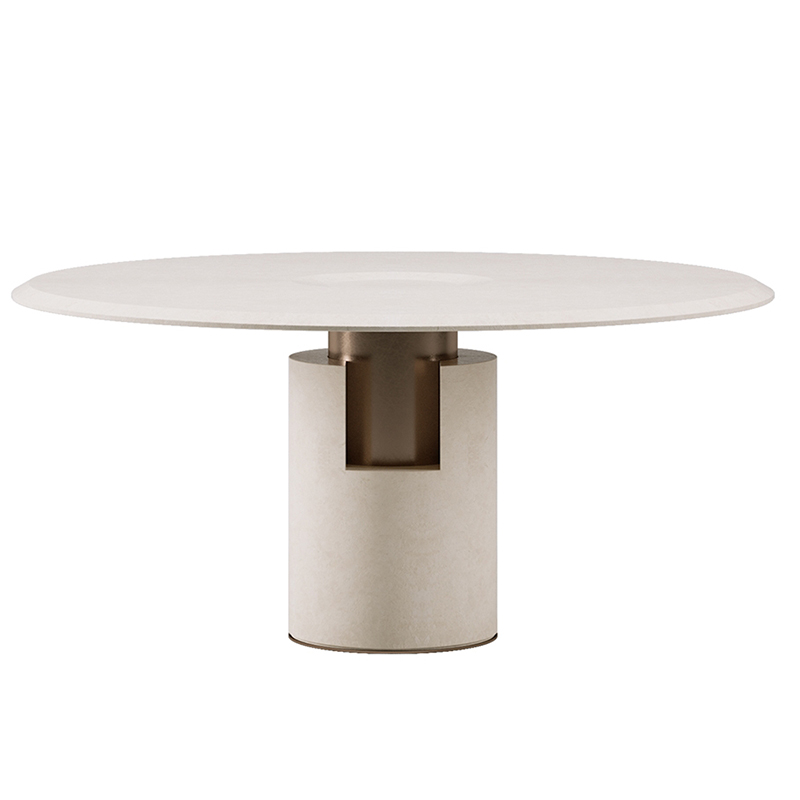 ALBA 意式极简 轻奢不锈钢 大理石 大小户型 家用商用 茶几边几角几 酒店会所样板房定制家具