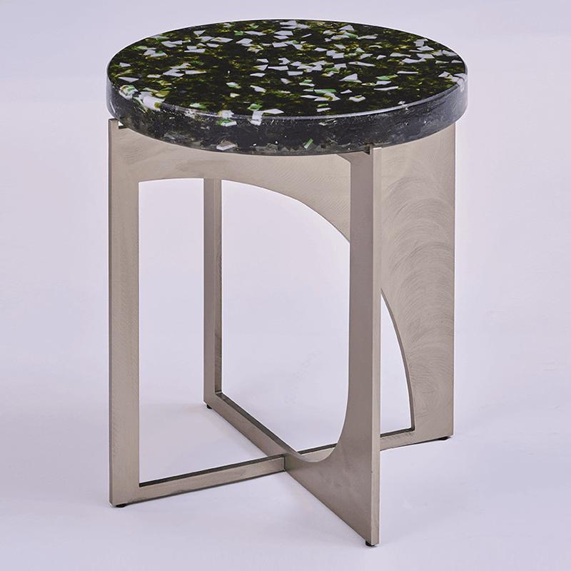 北欧设计师 保罗•卡斯泰利 夸张 HYPERBOLE  茶几 现代简约 轻奢不锈钢 客厅酒店样板房定制家具