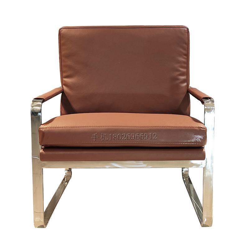 单人沙发椅设计师休闲椅懒人躺椅老虎椅现代简约单椅蜗牛椅
