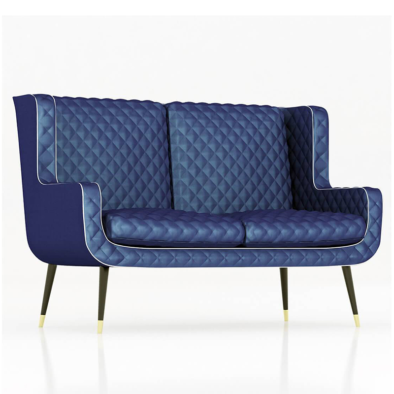 意大利 复古轻奢 Baxter款 Dolly sofa 设计师沙发 客厅酒店样板房 多莉沙发 双人位沙发