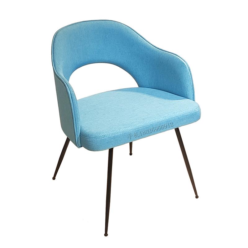 沙里宁Saarinen 不锈钢休闲椅 简约轻奢 后现代 布艺皮革定制 客厅家用 餐厅酒店样板房 餐椅
