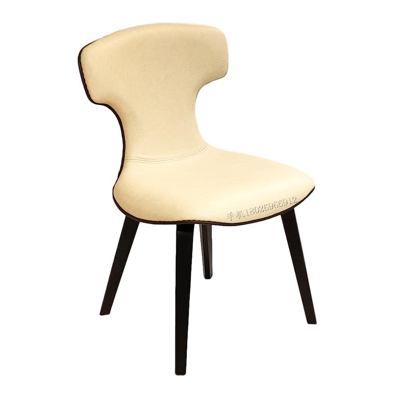 Montera Chair 蒙特拉椅子铁艺皮质现代简约设计师椅 餐椅复古创意个性极简酒店公寓餐厅会所
