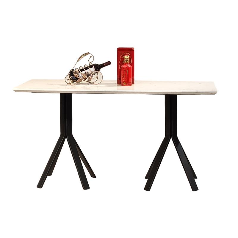 北欧轻奢长方形大理石 餐桌 简约客厅酒店会所样板房定制 餐桌椅