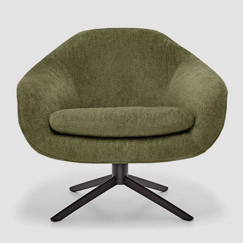 现代简约轻奢不锈钢 意式 BOND 设计师创意设计 沙发椅 客厅酒店会所样板房 休闲椅