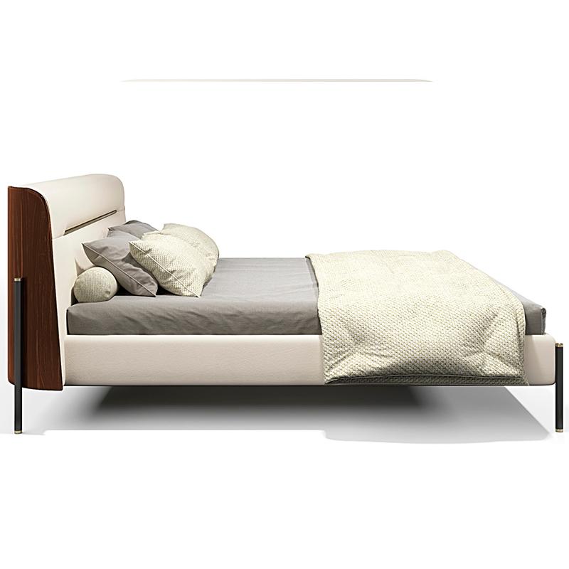 设计师 意式后现代 MAYFAIR The bed 轻奢不锈钢简约现代 卧室酒店样板房定制