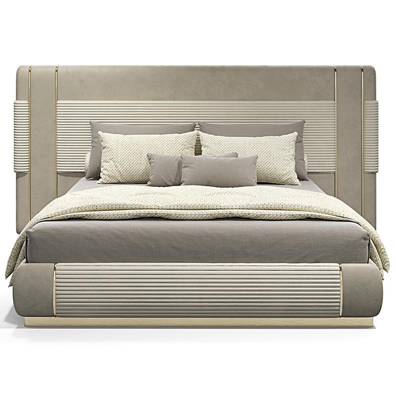 意大利家具 FREY The bed 简约现代 轻奢ins风 大小户型主卧 婚房 大床房