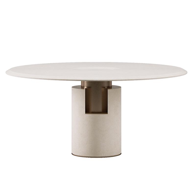意式极简 ALBA  table 阿尔巴桌子 大小户型 家用客厅酒店样板房 定制餐桌