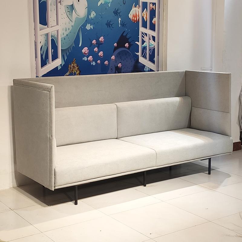 现代简约 轻奢北欧ins 大户型客厅酒店大厅商场 布艺皮革定制 多人位沙发