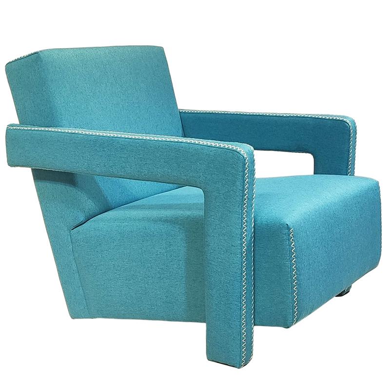意式 卡西纳 637 UTRECHT ARMCHAIR 设计师休闲椅 现代简约客厅酒店 单人沙发