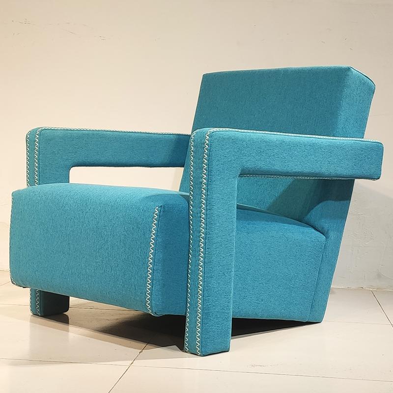卡西纳 637 UTRECHT ARMCHAIR 现代简约  意式 设计师 休闲椅 客厅酒店样板房 单人沙发