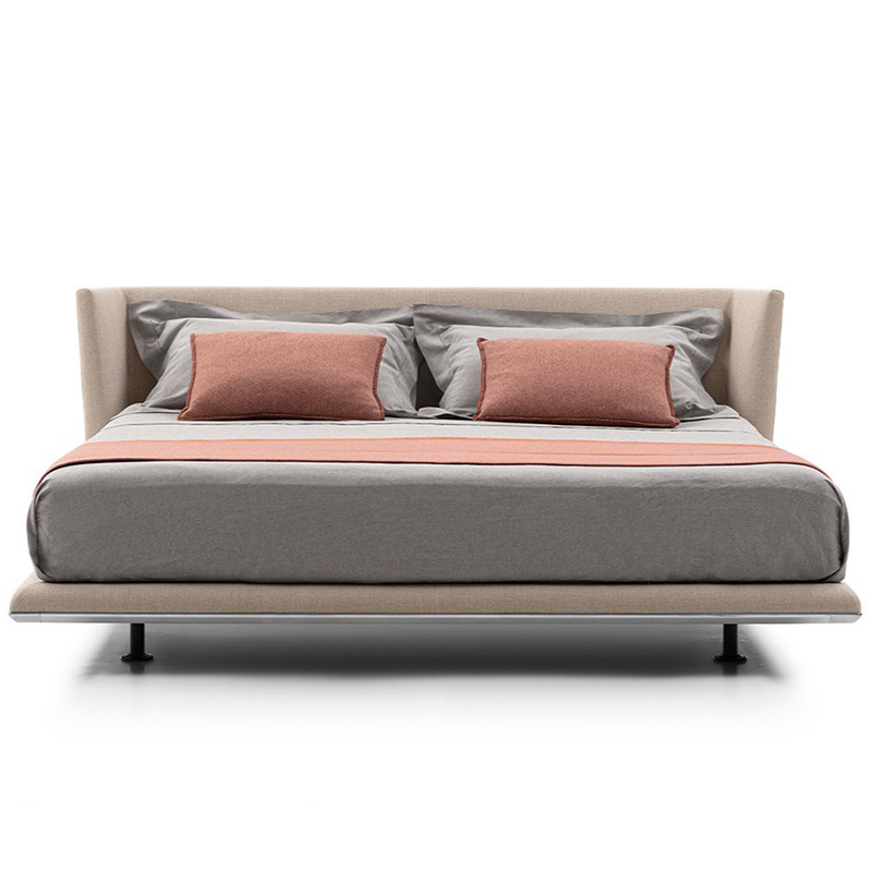 意大利 B&B NOONU 现代简约 设计师 大房床 卧室酒店会所 双人床 婚床